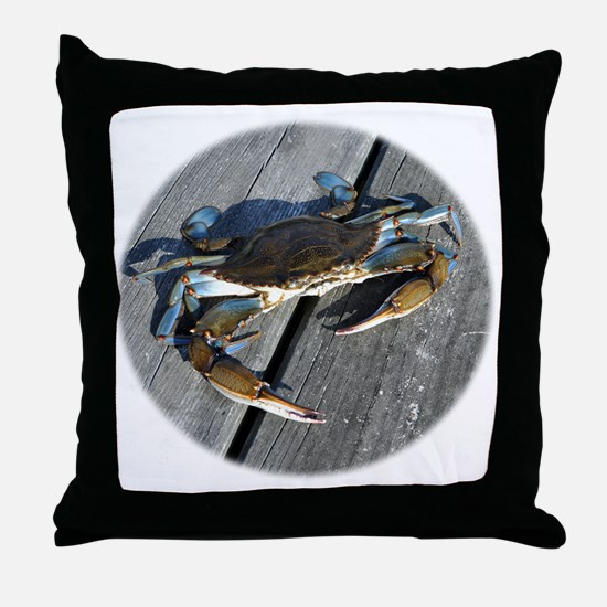 crabonly Throw Pillow