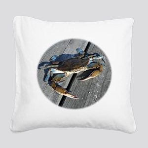 crabonly Square Canvas Pillow