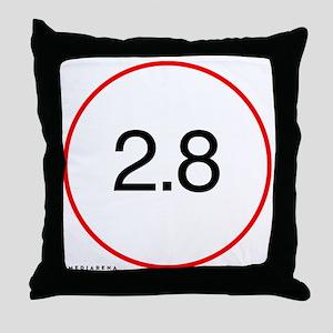 L-lens-28-trans Throw Pillow