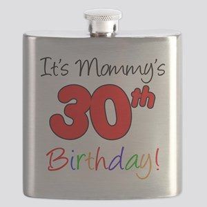 Mommys 30th Birthday Flask