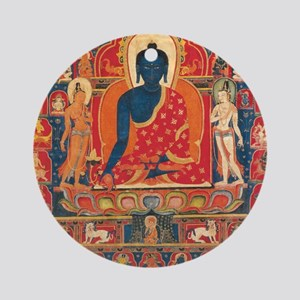 buddhablue Round Ornament