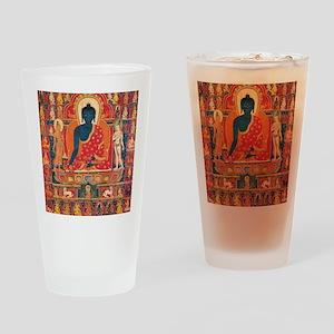 buddhablue Drinking Glass