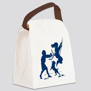 swinging  Canvas Lunch Bag