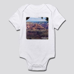 Grand Canyon View Baby Light Bodysuit