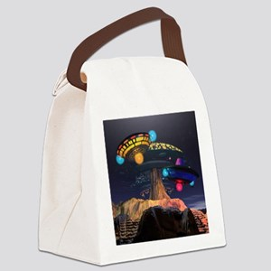 Encounters Canvas Lunch Bag