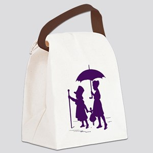 Dress-up  Canvas Lunch Bag
