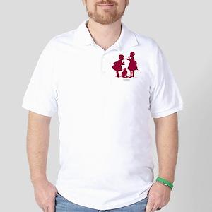 Tasting Silhouette Golf Shirt