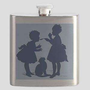 Tasting Silhouette Flask