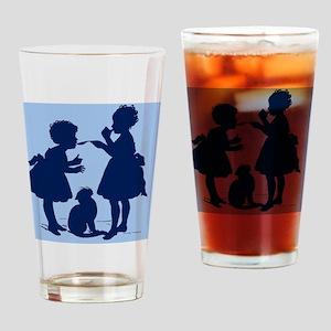 Tasting Silhouette Drinking Glass
