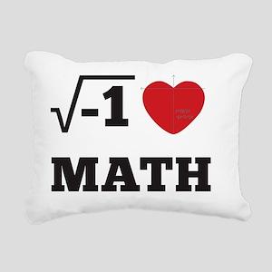 heartmath-b Rectangular Canvas Pillow