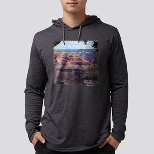 Grand Canyon View Mens Hooded Shirt