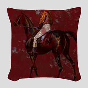 Kentucky Dery IV Woven Throw Pillow