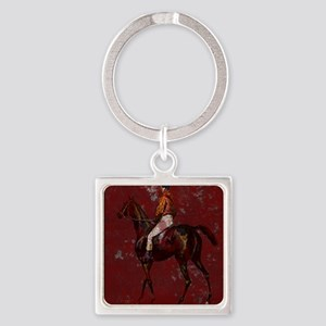 Kentucky Dery IV Square Keychain