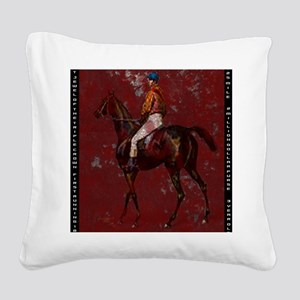 Kentucky Dery IV Square Canvas Pillow
