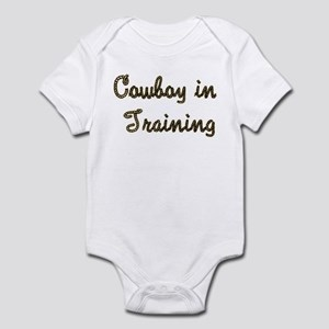 Cowboy in Training Infant Bodysuit