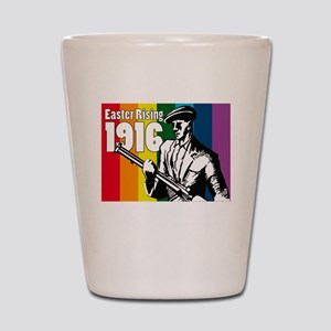 1916 Easter Rising 10x10 dark Shot Glass