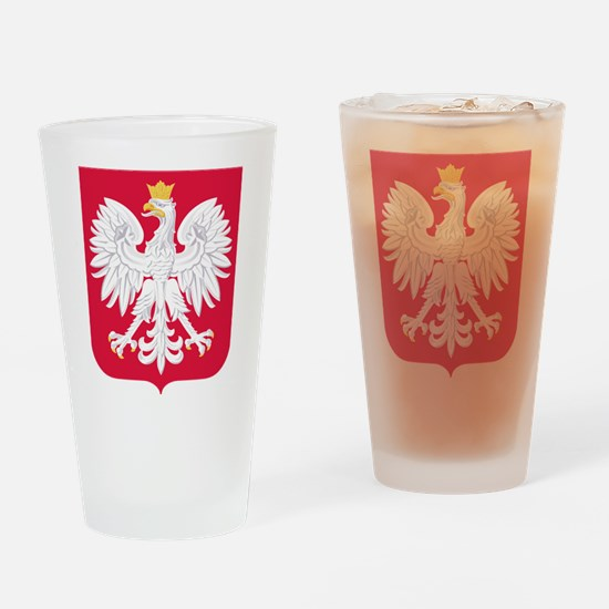 Poland Coat of Arms Drinking Glass