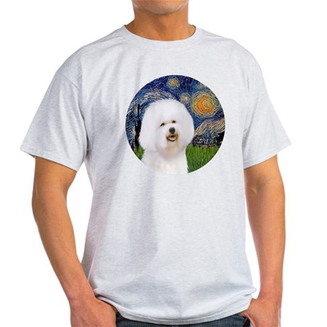 J-ORN-Starry-Bichon1 Light T-Shirt
