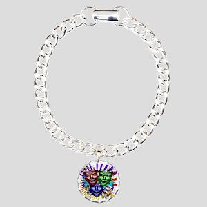 HYPER_COMEDY#9_11x11_pil Charm Bracelet, One Charm