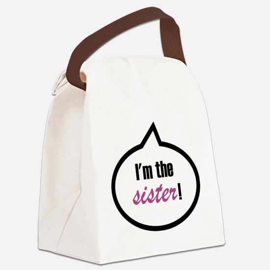 Im_the_sis Canvas Lunch Bag