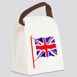 Olympic British Flag Canvas Lunch Bag