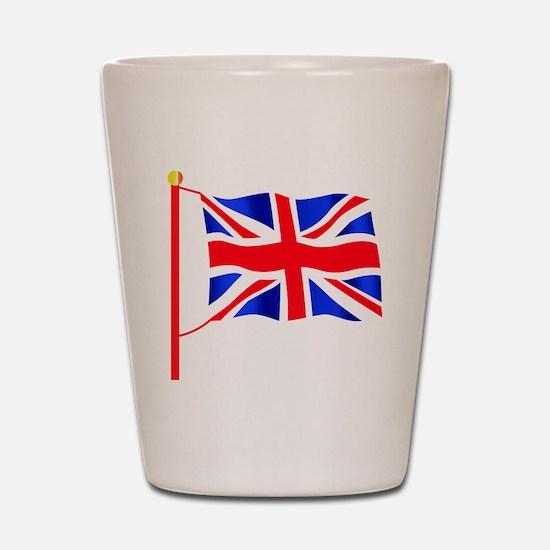 Olympic British Flag Shot Glass
