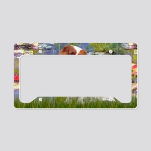LIC-Lilies2 - Cavalier (BL2) License Plate Holder