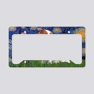LIC-Starry Night-Cavalier (BL License Plate Holder