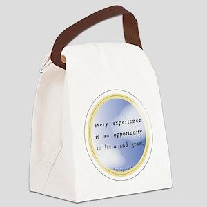 opp_round  Canvas Lunch Bag