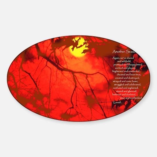 AnotherSeason FrPrint10x14AR Sticker (Oval)