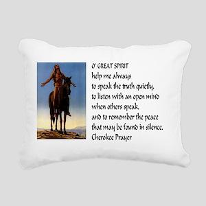 Speak Truth42x28 Rectangular Canvas Pillow