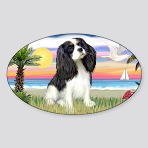 LIC-Palms-Cavalier(Tri6) Sticker (Oval)