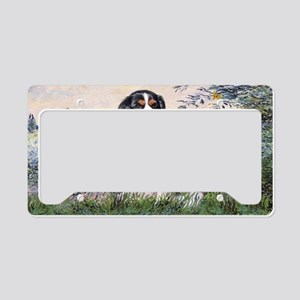 LIC-Seine-TriColorCavalier License Plate Holder