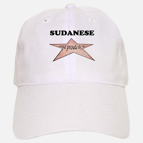 Sudanese and proud of it Baseball Baseball Cap