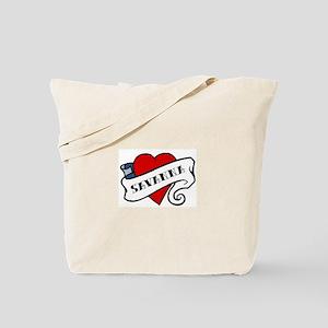 Savanna tattoo Tote Bag