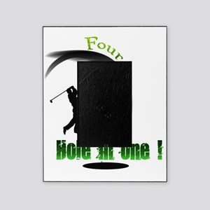 Four Hole in one Golf Picture Frame