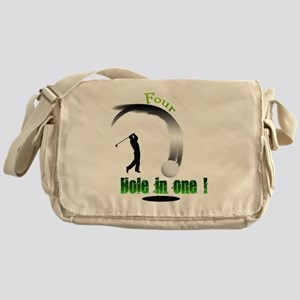 Four Hole in one Golf Messenger Bag