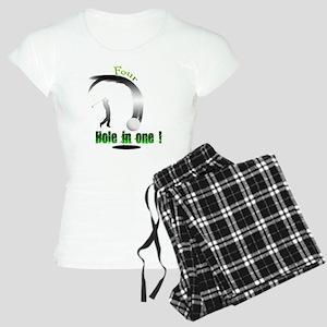 Four Hole in one Golf Dark Women's Light Pajamas