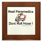 Real Paramedics Framed Tile