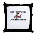 Real Paramedics Throw Pillow