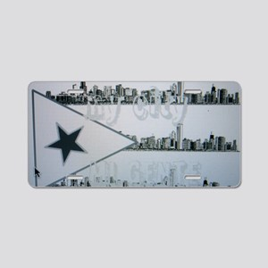 CHI RICAN Aluminum License Plate