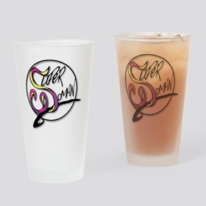 TheSuperWomanLogo Drinking Glass