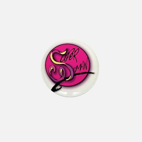 TheSuperWomanLogo Mini Button