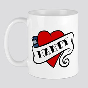 Mandy tattoo Mug