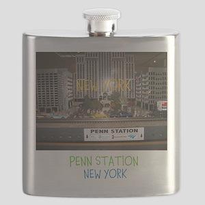 PENN STATION, NEW YORK. Flask