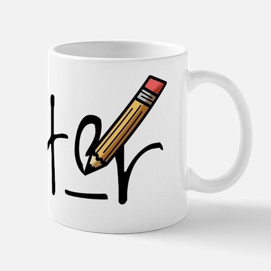 writ_r copy Mug
