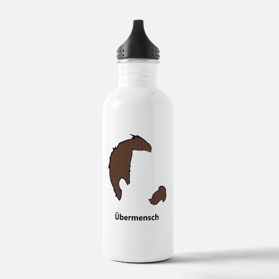 Ubermencshe300Black Water Bottle