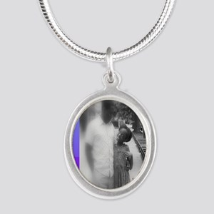 Daddy girl_updated_9x12 Silver Oval Necklace