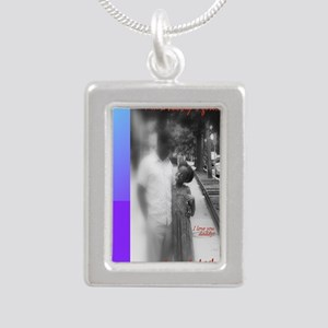 Daddy girl_updated_9x12 Silver Portrait Necklace