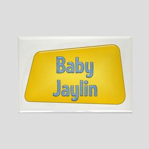 Baby Jaylin Rectangle Magnet
